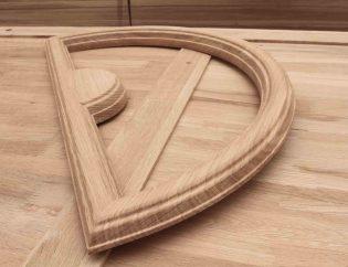 Usinage pièce en bois